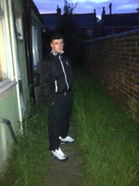 out at night lad